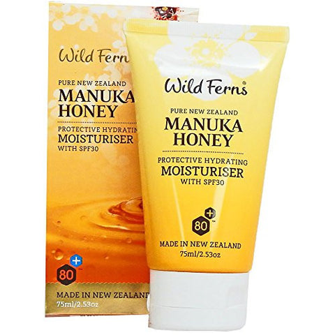 Wild Ferns Manuka Honey Moisturiser SPF