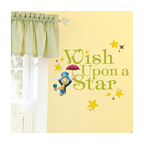 RoomMates RMK2367SCS Wish Upon A Star Peel and Stick Wall Decals