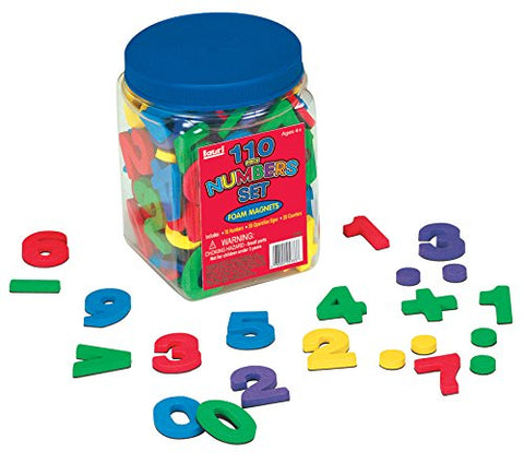 110 Foam Magnetic Numbers Set