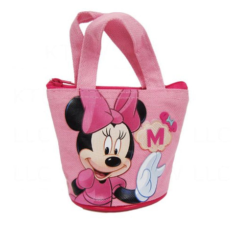 Officially Licensed Disney Mini Handbag Style Coin Purse - Minnie Mouse
