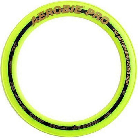 Superflight Aerobie Pro Flying Ring, Yellow
