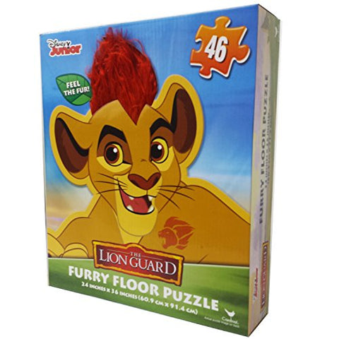 Cardinal Lion Guard Floor Puzzle with Hair (46 Piece)