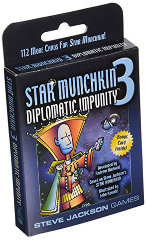 Star Munchkin 3 Diplomatic Impunity Card Game