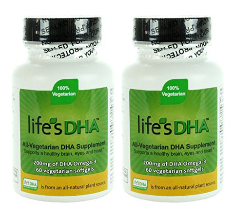 Martek Life's DHA 200mg All-Vegetarian Softgels, 60 Count
