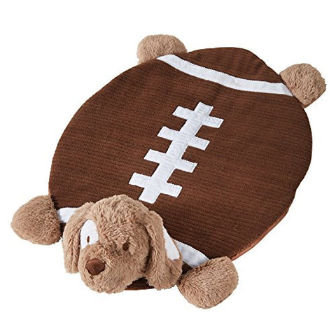 Mud Pie Plush Mat Tummy Time Nursery Décor, Football