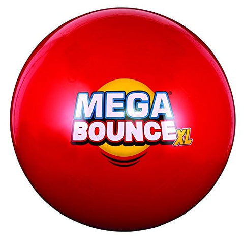Duncan Toys Mega Bounce Ball Toy, X-Large, Blue/Red