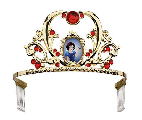 Disguise Deluxe Disney Princess Snow White Tiara, One Size Child, One Color