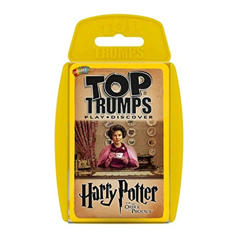 Harry Potter And The Order Of The Phoenix Top Trumps Card Game | Educational Card Games