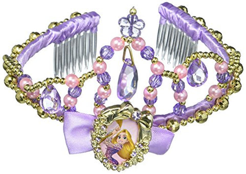 Disguise Rapunzel Classic Disney Princess Tangled Tiara, One Size Child, One Color