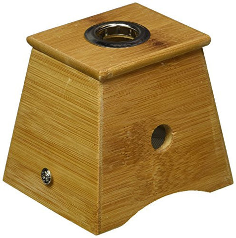 Bamboo One Hole Healing Box 艾灸盒 for Moxa Moxibustion Medicine Therapy