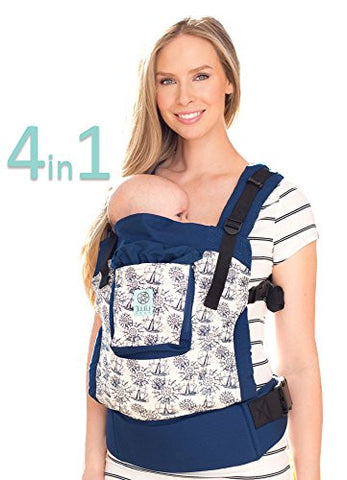 LILLEbaby 4 in 1 ESSENTIALS Baby Carrier - Seven Seas