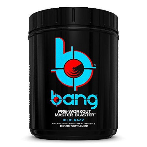 Vpx Bang Pre-Workout Master Blaster, Blue Razz