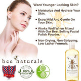Bee Naturals, Queen Bee Liquid Honey Skin Cleanser, for Normal, Combination and Oily Skin 8 Oz
