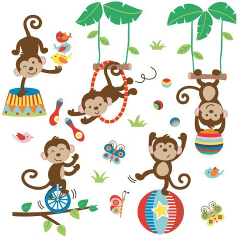 Under the Tree Top Decorative Peel & Stick Wall Art Sticker Decals