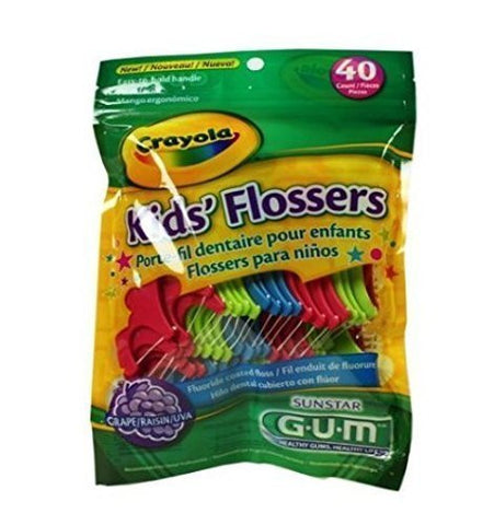 Gum Cryola Flossers Size 40ct