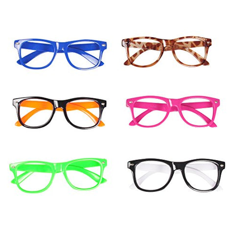 Seekingtag Children Stylish Cute Glasses Frame Without Lenses