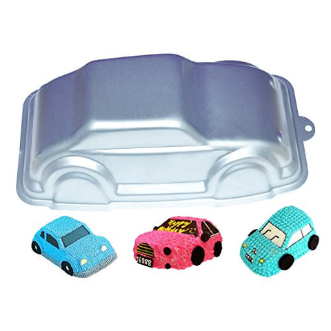 GXHUANG 9.6 inch Vehicle Cars Mold Aluminum Alloy Cake Baking Pan ( Car )
