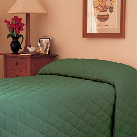 Martex 1C75877 100-Inch x 118-Inch Bedspread, Queen, Forest Green,