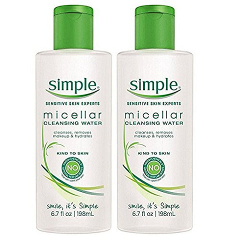 Simple Micellar Cleansing Water, 6.7 Ounce