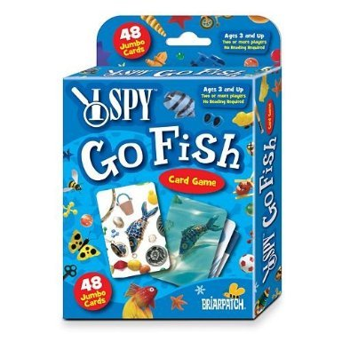 I Spy Card Game Go Fish by Briarpatch (BP06306)