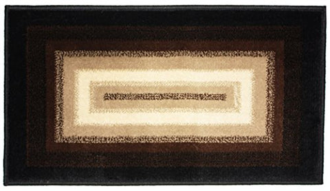 J & M Home Fashions Wonderland Woven Area Rug, 23 by 36-Inch