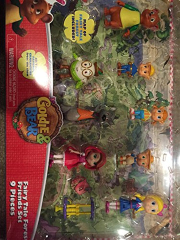 Disney Junior Goldie & Bear Fairy Tale Forest Friends Figure Set
