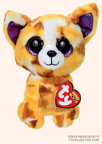 New TY Beanie Boos Cute Pablo the Chihuahua Plush Toys 6'' 15cm Ty Plush Animals Big Eyes Eyed Stuffed Animal Soft Toys for Kids Gifts