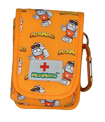 AllerMates - Small Medicine Case: Orange