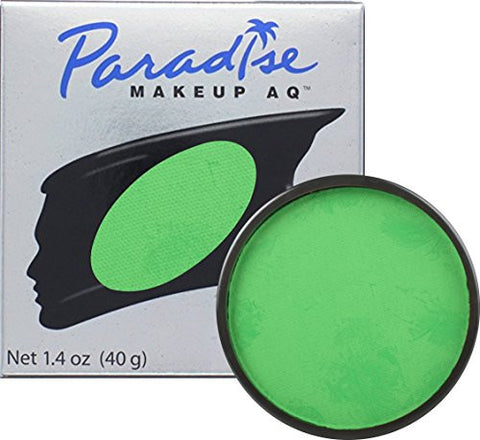 Mehron Makeup Paradise AQ Face & Body Paint, AMAZON GREEN: Tropical Series – 40gm