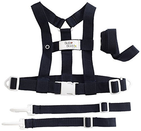 Baby Buddy Deluxe Security Harness, Black