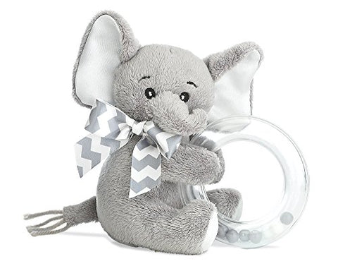Lil' Spout Elephant Shaker Rattle 4 by Bearington Baby