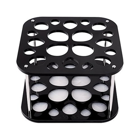 Docolor 20 Hole Makeup Brush Holder Tree Stand Accessories Air Drying Rack Organizer Cosmetic Shelf Tools
