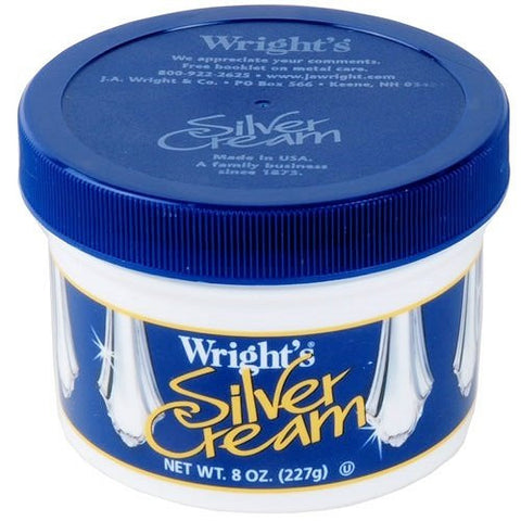 Wright's Silver Cream Polish, 8 Ounce