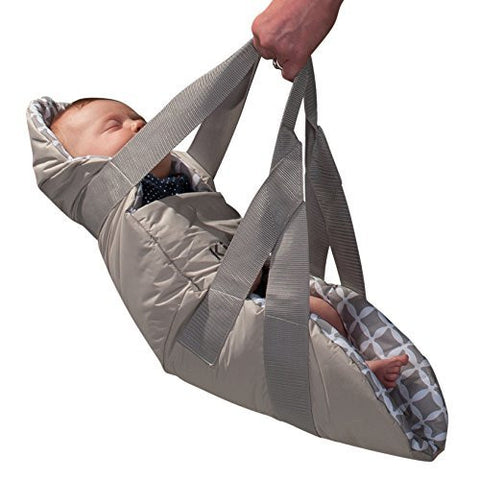 KidCo Swingpod Infant Portable Swaddle Swing, Gray