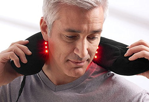 LED Pain Relief Neck Pillow