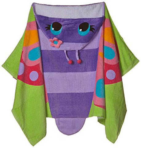 Stephen Joseph Hooded Towel, Butterfly