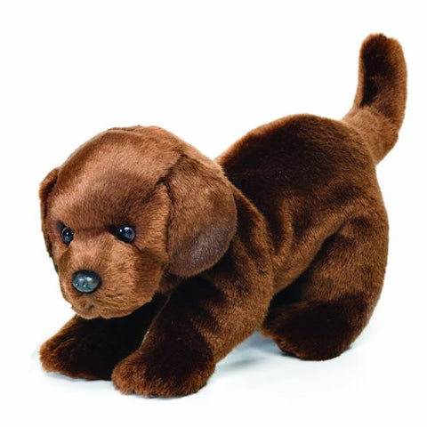 Nat and Jules Plush Toy, Chocolate Labrador, Large
