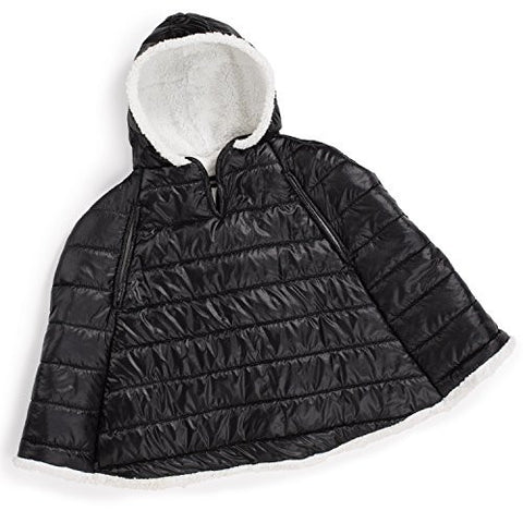 Summer Infant Car Seat Coat and Poncho, Sherpa Puffer
