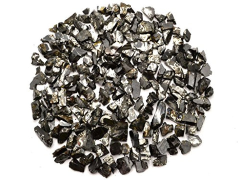 Wallystone Gems: Noble Elite Shungite 3.5 Oz 100g Detoxification Stone Antioxidant, Structured Water