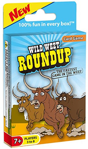 Wild West Roundup Card Game: The Fastest Game in the West!