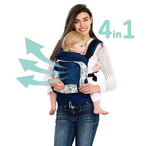 LILLEbaby 4 in 1 ESSENTIALS All Seasons Baby Carrier - Seven Seas