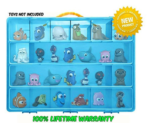 Life Made Better Toy Storage Organizer. Fits Up to 20 Figures. Compatible With Finding Dory TM