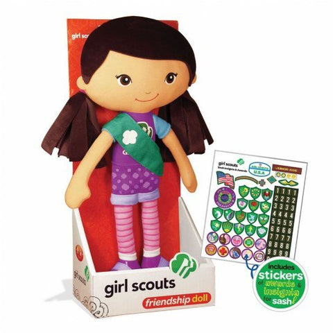 Girl Scout 11.75 Friendship Doll - Carina