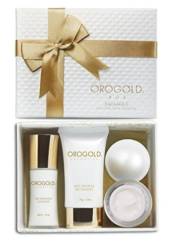 Mothers Day Special, OROGOLD Cosmetics 24K Gold Luxury Package 1 Skin Care Set for Women