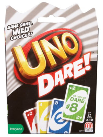 UNO Dare Card Game