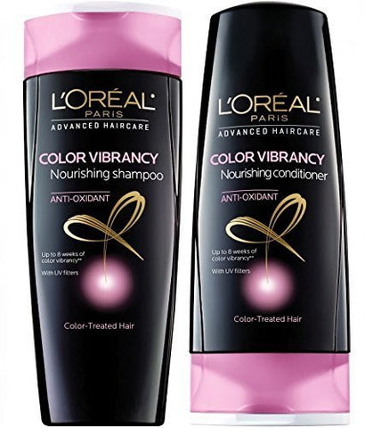 L'oreal Advanced Haircare Color Vibrancy Shampoo & Conditioner, 12.6 Fl. Oz.