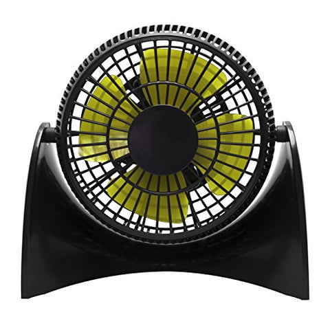 USB Desk Fan, MBSSHI Small Table Fan with 2 Speed, 5 inch Quiet Mini Personal Fan for Home Office Travel
