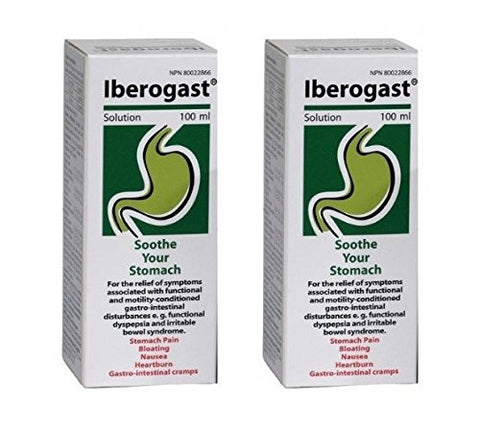Iberogast LARGE SIZE for Dyspepsia, Bloating, Stomache Pain and Heartburn Brand: Medical Futures (200 ml)