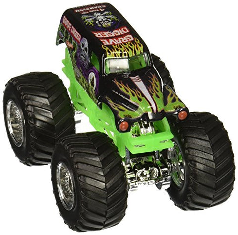 Hot Wheels Monster Jam 1:64 Scale - Grave Digger with Stunt Ramp #05