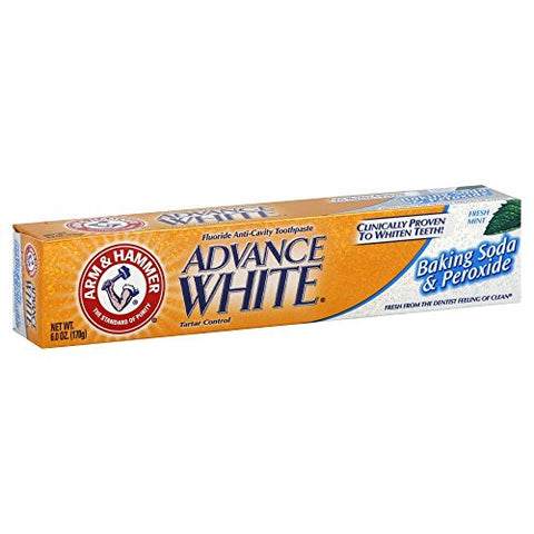 Arm and Hammer Advance White Extreme Whitening with Stain Defense 6 Oz